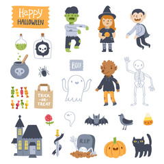 Halloween super set