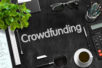 Crowdfunding Concept. 3D Rendering.