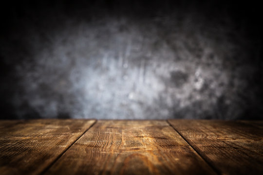 Wooden table background