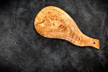 Fotoväggar - Olive wood cutting board