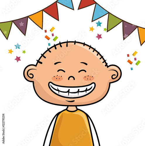 """avatar Boy Smiling And Happy Birthday Party Decorations"