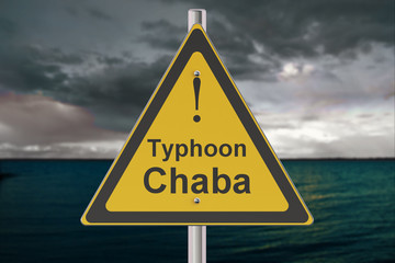Typhoon Chaba concept, 3D rendering