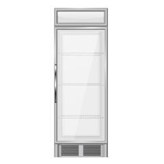 Display refrigerator, merchandiser