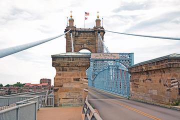 John A. Roebling Suspension Bridge, Cincinnati