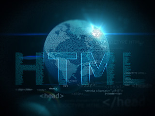 Earth  technology html  background