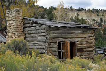 Old Wood Cabin