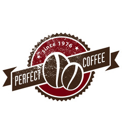 Coffee shop vintage banner and logo template