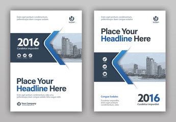 Book Cover Layout Set 2
