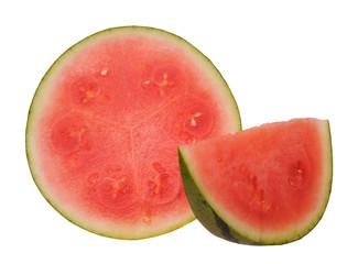 chopped  watermelon