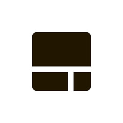 Gallery view Display options icon vector