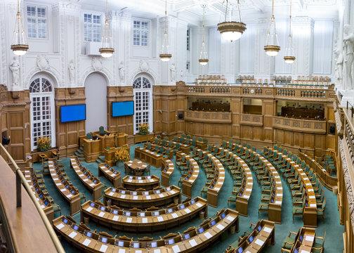 Danish parliament in Copenhagen