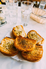 Bread with olives and herbs