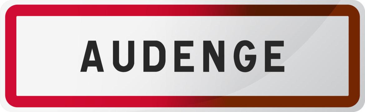 Audenge, ville de Gironde (33) - Région Nouvelle-Aquitaine - France