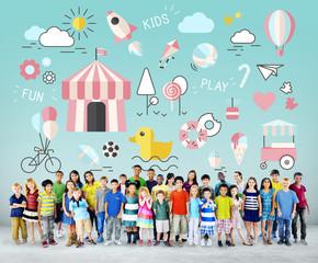 Kids Innocent Children Fun Young Concept