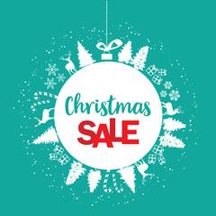 CHRISTMAS sale, winter sale