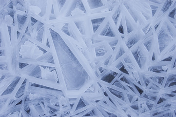 abstract ice winter background