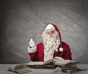 Santa Claus in school