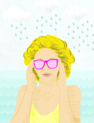 Różowe okulary