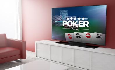 Television smart poker online