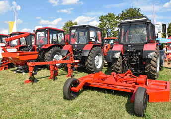 New tractors and agricultural machineries
