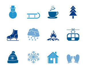 Winter Iconset - Eisfarben