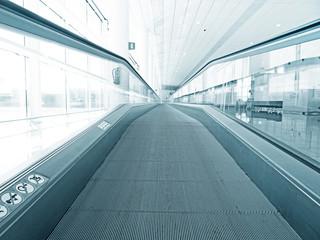 Moving walkway or escalator