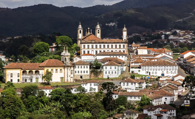 Blick auf Ouro Preto, Brasilien