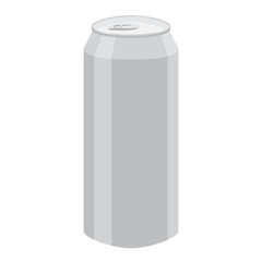 aluminum can vector illustration