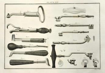Vintage dental tools