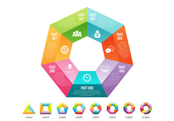 Polygon Infographic