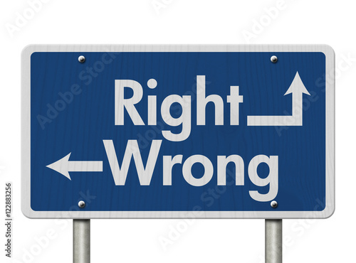 the difference between right and wrong Now you don't have to wait until you go to school to learn about ethics parents  are trying to teach their children about the difference between right and wrong.