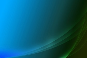 Abstract blue background with 6 waves