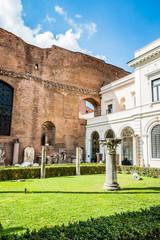 Les thermes de Dioclétien à Rome