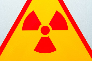 Radiation safety sign