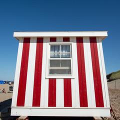 Lifeguard hut on Cavendish Beach, Green Gables, Prince Edward Is