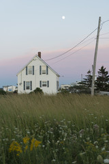 Buildings in North Rustico, Prince Edward Island, Canada