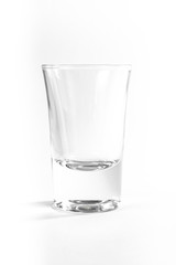 Empty Full Shot Glass Party Drinking Alcohol Beer Whiskey Clear