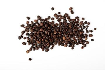 coffee grains,abstract, dark