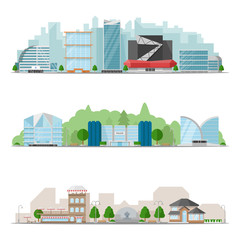 Big City Skylines Banner Set