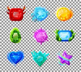 Web Game Magic Gems