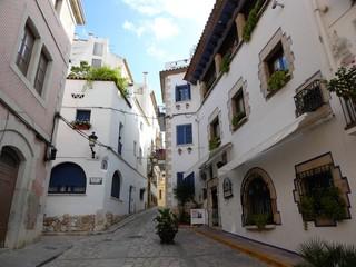 rues de Sitges, Espagne