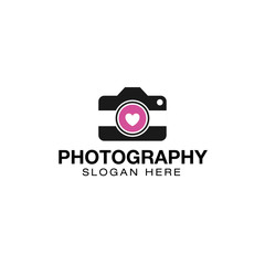 Photography logo creative design vector
