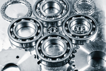 titanium ball-bearings for the aerospace engineering industry