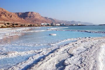 Salty iceberg. Dead Sea, Israel.