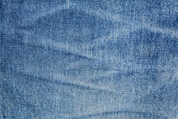 Blue denim jean, Cotton fabric texture background