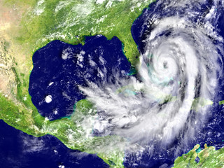 Hurricane Matthew approaching Florida