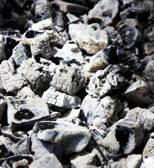 coals burned