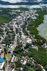 パラオ コロール 市街地鳥瞰