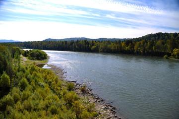 Katun River, Altai Mountains, Russia