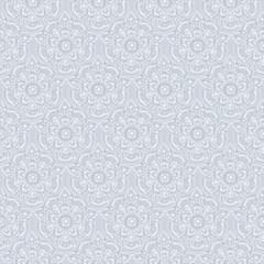 Seamless silvery vintage pastel pattern